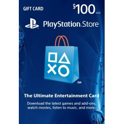 PlayStation Store 100 Dolares USA Gift Card CDkey