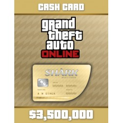 Gta V 5 Cash Dinero 3.500.000 Whale Shark Ps3 Ps4 Xbox One
