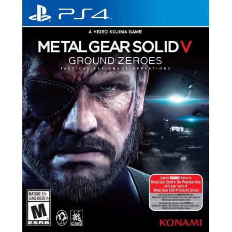 Metal Gear Solid 5 V Ground Zeroes Ps4 Digital