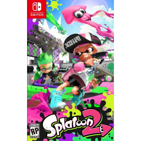 Splatoon 2 Nintendo Switch Ns Codigo Original