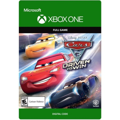 Cars 3 Driven To Win Xbox One Original Cdkey