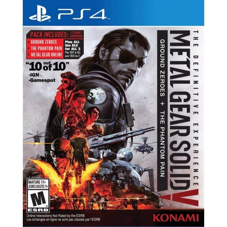 Metal Gear Solid 5 V The Definitive Experience Ps4 Original
