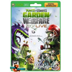 Plants Vs Zombies Garden Warfare Xbox 360 Codigo Original