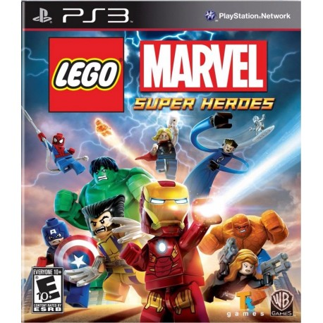 Lego Marvel Super Heroes Ps3 Digital