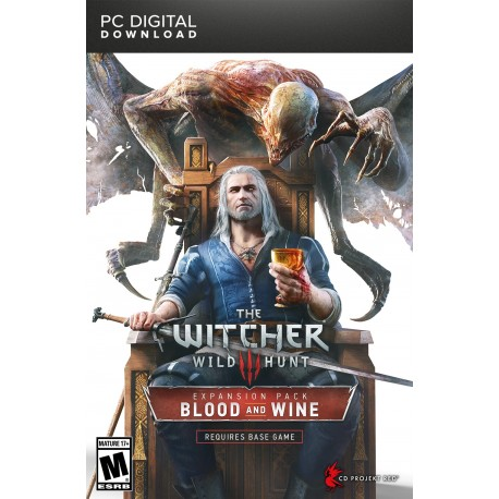 The Witcher 3 Wild Hunt Blood and Wine DLC Pc GOG Cdkey