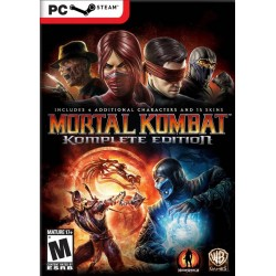 Mortal Kombat 9 Komplete Edition Pc Steam Gift