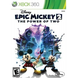 Disney Epic Mickey 2: The Power of Two Xbox 360 Cdkey
