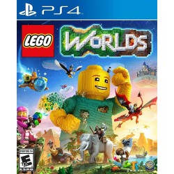 Lego Worlds Ps4 Original Digital