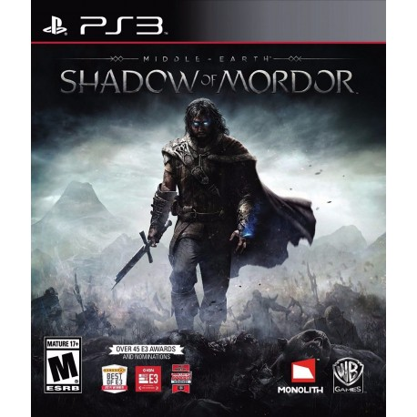 Middle Earth Shadow Of Mordor Ps3