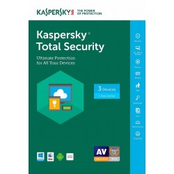 Kaspersky Total Security 2017 Licencia Original 3 Pc 1 Año