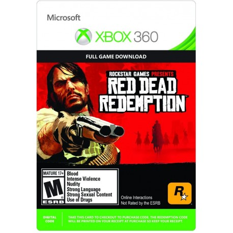 Red Dead Redemption Xbox 360 Cdkey