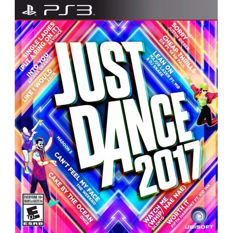 Just Dance 2017 17 Ps3 Digital Psn Store