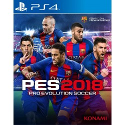 PES 2018 Pro Evolution Soccer 2018 Ps4 Digital