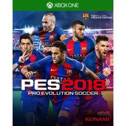 PES 2018 Pro Evolution Soccer 2018 Xbox One