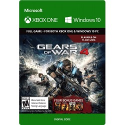 Gears Of War 4 Xbox One + Pc Original Windows 10