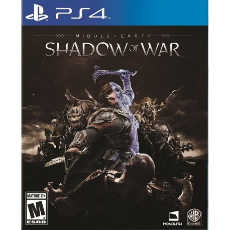 Middle-earth Shadow Of Mordor Ps4 Digital
