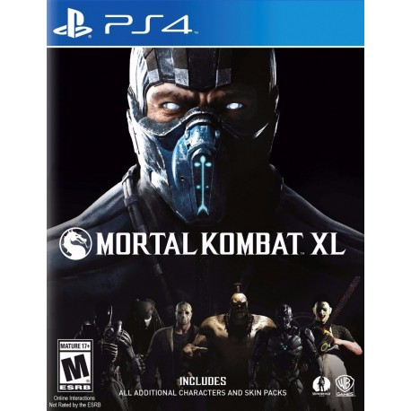 Mortal Kombat Xl Edition Ps4 Digital