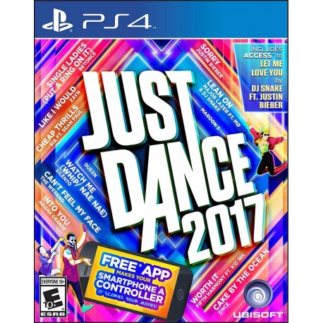 Just Dance 2017 17 Ps4 Digital