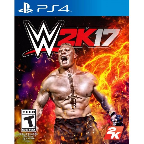 Wwe 2k17 2017 17 Ps4 Digital