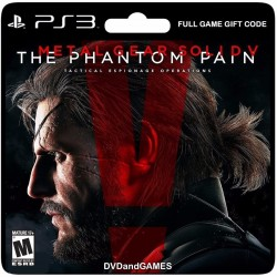 Metal Gear Solid 5 V The Phantom Pain Ps3 Digital