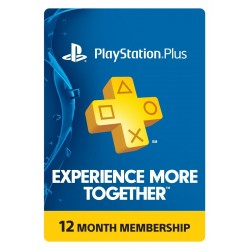 Suscripcion Playstation Plus 1 año