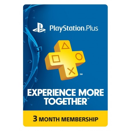 Suscripcion Playstation Plus 3 meses