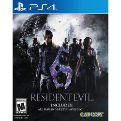 Resident Evil 6 Ps4 Digital