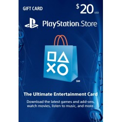 PlayStation Store 20 Dolares USA Gift Card CDkey